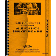 Allis Chalmers 5030 Tractor Service Manual