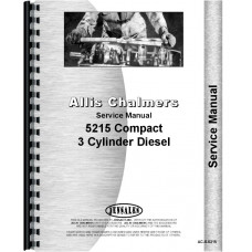 Allis Chalmers 5215 Tractor Service Manual