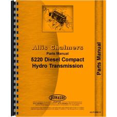 Allis 5220 Tractor Parts Manual
