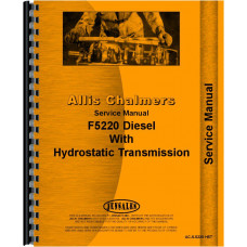Deutz (Allis) 5220 Tractor Service Manual