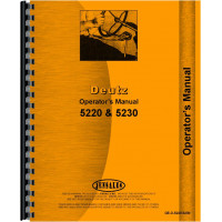 Deutz (Allis) 5220 Tractor Operators Manual