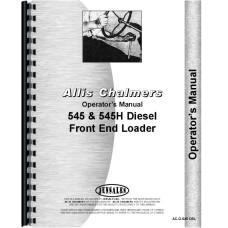 Allis Chalmers 545H Front End Loader Operators Manual