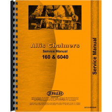 Allis Chalmers 160 Tractor Service Manual