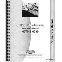 Allis Chalmers 6080 Tractor Operators Manual