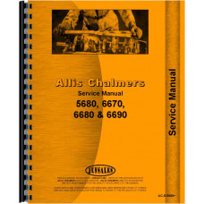 Allis Chalmers 6670 Tractor Service Manual