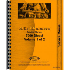 Allis Chalmers 7000 Tractor Service Manual (All Serial #s)