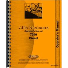 Allis Chalmers 7040 Tractor Operators Manual
