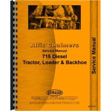 Allis Chalmers 715 Tractor Loader Backhoe Service Manual