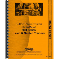 Allis Chalmers 917 Lawn & Garden Tractor Service Manual (Chassis)