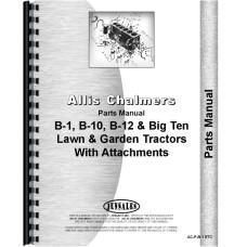Allis Chalmers B-1 Lawn & Garden Tractor Parts Manual