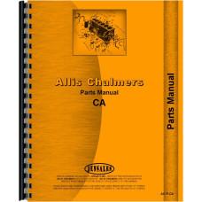Allis Chalmers CA Tractor Parts Manual