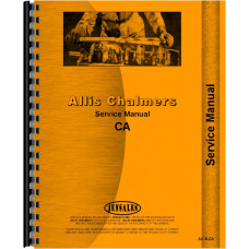Allis Chalmers CA Tractor Service Manual