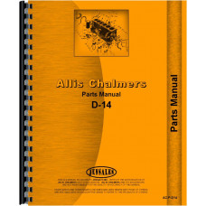 Allis Chalmers D14 Tractor Parts Manual (SN# 0-19000)
