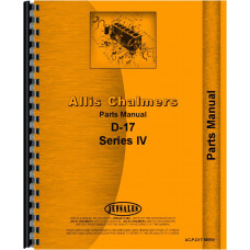 Allis Chalmers D17 Tractor Parts Manual (Series IV)