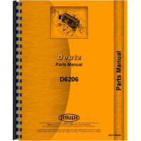 Deutz D6206 Tractor Parts Manual (SN# 7551/1 and Up)