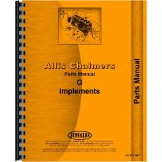 Allis Chalmers G Farm Implements Parts Manual