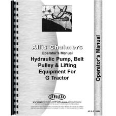 Allis Chalmers G Hydraulics Operators Manual (Hydraulics)
