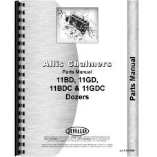 Allis Chalmers HD11 Attachment Parts Manual