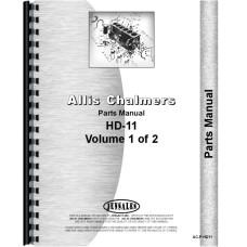Allis Chalmers HD11E Crawler Parts Manual (SN# 0-12201)