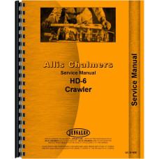 Allis Chalmers HD6E Crawler Service Manual (SN# 101-11093)