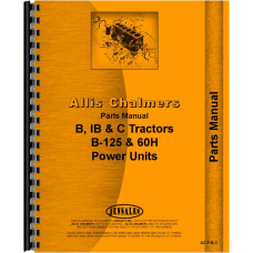 Allis Chalmers B125 Engine Parts Manual
