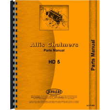 Allis Chalmers TS-5 Crawler Parts Manual (Chassis)