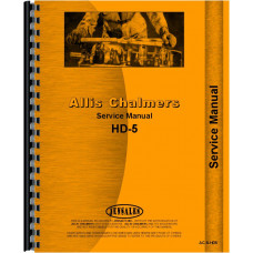 Allis Chalmers TS-5 Crawler Service Manual