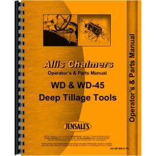 Allis Chalmers WD45 Tractor Operators & Parts Manual
