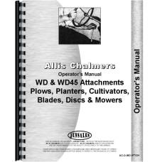Allis Chalmers WD45 Tractor Operators Manual (Attachment)