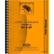 Allis Chalmers WC Tractor Parts Manual