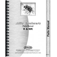 Allis Chalmers WK Crawler Parts Manual