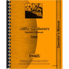 Allis Chalmers 7050 Tractor Operators Manual
