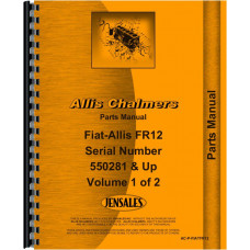 Allis Chalmers FR12 Tractor Parts Manual (Sn 550,281 & up) (includes 2 volumes)