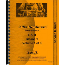 Allis Chalmers L Combine Service Manual