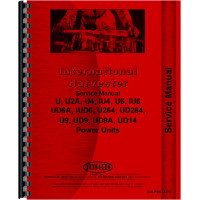 Galion 104 Grader IH Engine Service Manual (SN# 0-1001) (Engine)