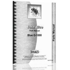 John Blue  Tractor Parts Manual (G-1000 )