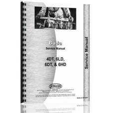 Buda 4DT, 6DH, 6DT Engine Service Manual (Dsl)