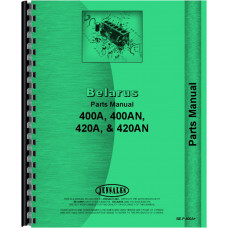 Belarus 400AN Tractor Parts Manual (Dsl)