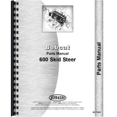 Bobcat 600 Skid Steer Loader Parts Manual