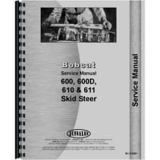 Bobcat 444 Skid Steer Loader Service Manual