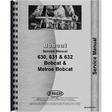 Bobcat 632 Skid Steer Loader Service Manual (Chassis)