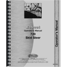 Bobcat 720 Skid Steer Loader Operators Manual