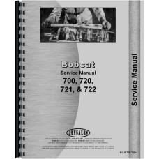 Bobcat 721 Skid Steer Loader Service Manual