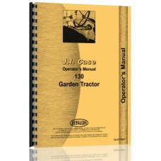 Case 130 Lawn & Garden Tractor Operators Manual