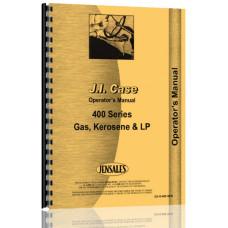 Case 400 Tractor Operators Manual (Gas, Ker & LP)