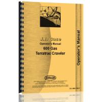 Case 600 Crawler Operators Manual (Gas)