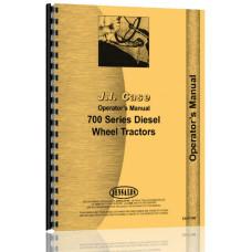 Case 701 Tractor Operators Manual