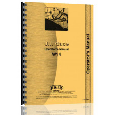 Case W14 Wheel Loader Operators Manual (SN# 0-9119671)