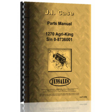 Case 1270 Tractor Parts Manual (SN# 0-8736000)
