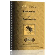 Case 310F Backhoe Attachment Parts Manual (SN# of Backhoe 4041720-4075165)